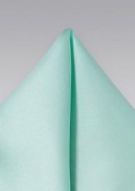 Einstecktuch Poly-Faser aqua