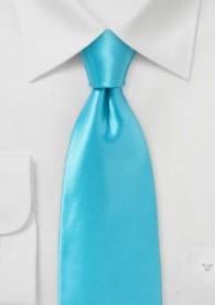 Krawatte italienische Seide mint unifarben