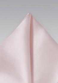 Einstecktuch italienische Seide einfarbig zartrosa