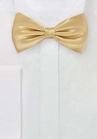 Schleife einfarbig goldfarben italienische Seide