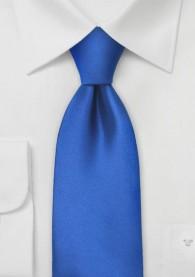 Kinder-Krawatte monochrom königsblau