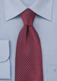 Kinder-Krawatte Struktur kirschrot burgunderrot
