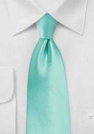 Stylische Krawatte türkis Kunstfaser