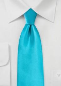 Stylische Businesskrawatte mint Poly-Faser