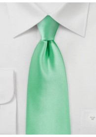 Auffallende Herrenkrawatte blaugrün Poly-Faser