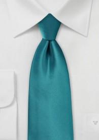 Auffallende Krawatte mint Poly-Faser