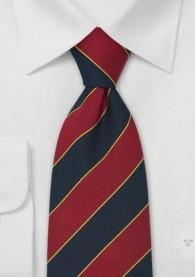 XXL-Krawatte blau rot gelb