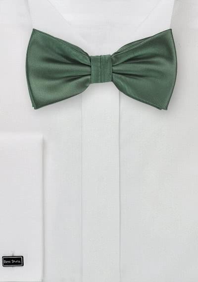 Schleife strahlendes tannengrün Kunstfaser
