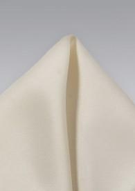 Einstecktuch altweiß Poly-Faser