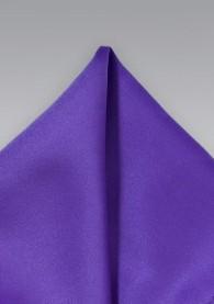 Ziertuch lila Poly-Faser