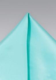 Einstecktuch mintgrün Kunstfaser