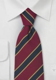 "Krawatte  ""Dragoon Guards"" blau gelb rot"