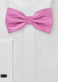 Fliege Poly-Faser pink