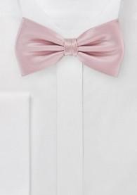 Herrenschleife rose Poly-Faser