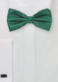 Herren-Schleife einfarbig tannengrün