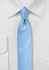 Kravatte Punkt-Dekor taubenblau marineblau