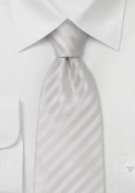 Mikrofaser Krawatte in weiß