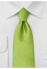 Mikrofaser Sicherheits-Krawatte in hellem Grün