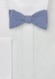 Bindefliege Wolle taubenblau
